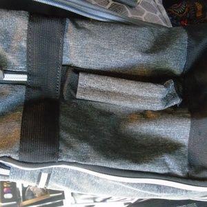 Biaggi Bags - Biaggi Zipsack Charcoal Gray NEW without packaging